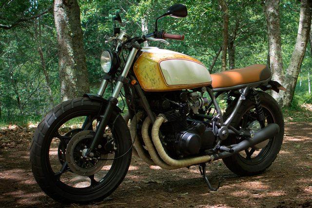 画像: SUZUKI GS850 tarmaccustommotorcycles.com