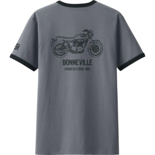 画像: トライアンフとユニクロのコラボTシャツが発売に!