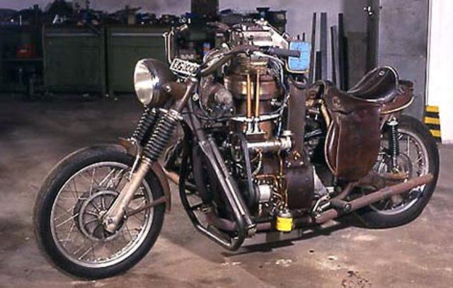 画像: 3リッターオーバーの単気筒車、HG3000。かなりブキミ(笑)です。 thekneeslider.com