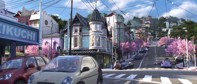 画像: サンフランシスコと東京のハイブリッド:仮想都市のサンフランソウキョウ www.disney.co.jp