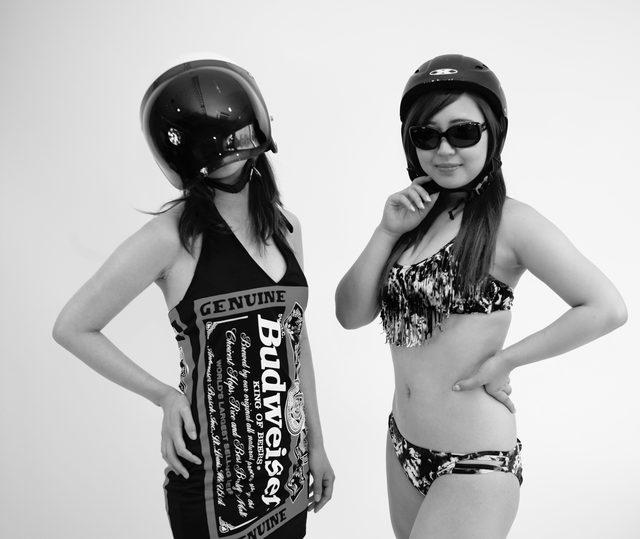 画像1: 新シリーズスタート!グラビア【ヘルメット女子】SEASON-VI 001