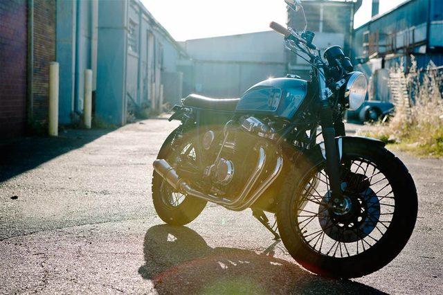 画像: HONDA CB750。らしさがありますね www.66motorcycles.com
