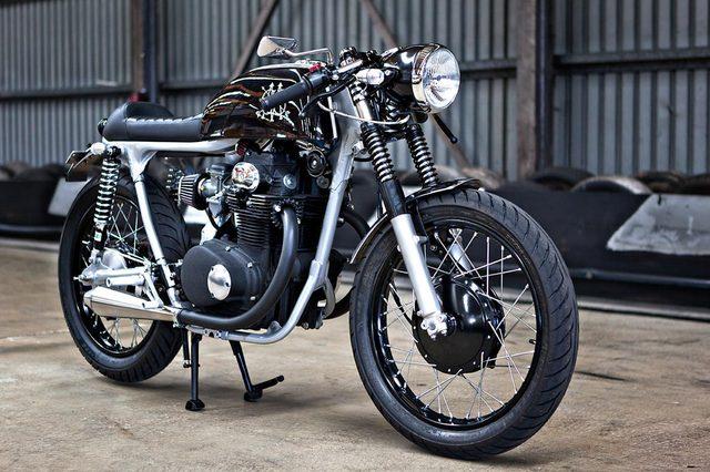 画像: こちらはCB350 www.66motorcycles.com