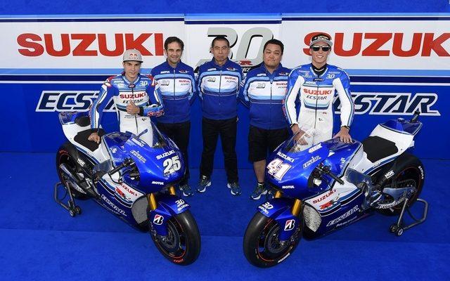 画像: 【MotoGP 第9戦】スズキ、GSX-R 30周年記念カラーで参戦