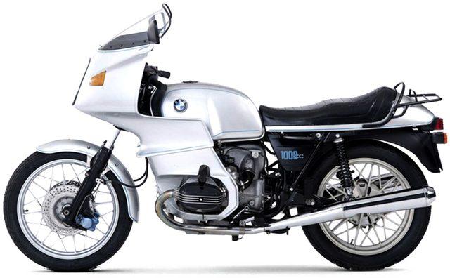 画像: BMW R100RS のオリジナルが www.anvilmotociclette.com