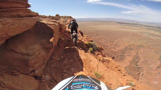 画像1: 眺めはいいけど、こんな崖っぷちは走るのはちょっと勘弁ですね