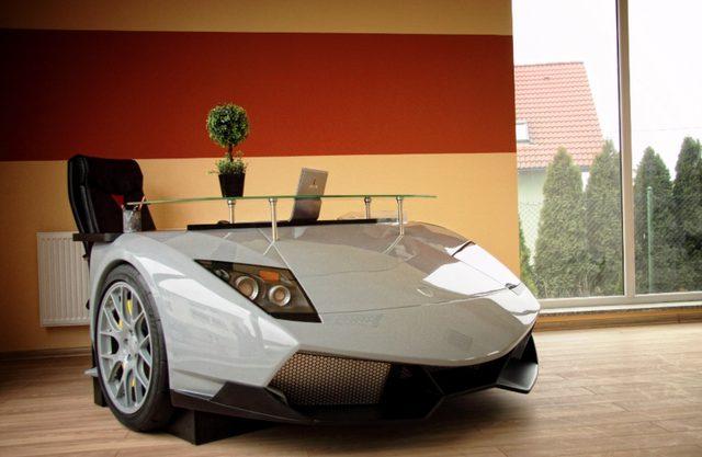 画像: 高級車がデスクに!自宅やオフィスに、車好きのための高級インテリア。 - LAWRENCE(ロレンス) - Motorcycle x Cars + α = Your Life.