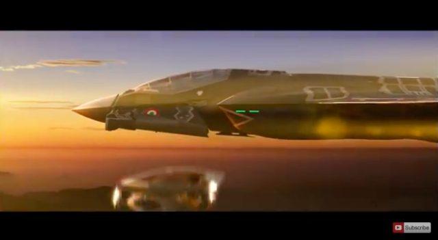 画像: 大きい戦闘機?から、エゴイスタのコックピットが落下。