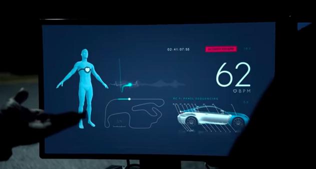 画像1: ドライバーの心拍数が丸わかり!?ボディにドキドキメーターがついたLEXUS RC Fが公開!
