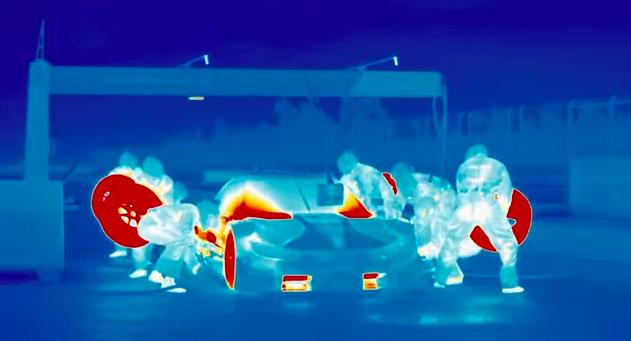 画像: クルマの温度がよくわかる!サーマルカメラで撮影された映像が面白い! - LAWRENCE(ロレンス) - Motorcycle x Cars + α = Your Life.
