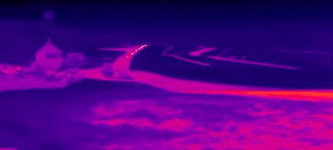 画像1: クルマの温度がよくわかる!サーマルカメラで撮影された映像が面白い!