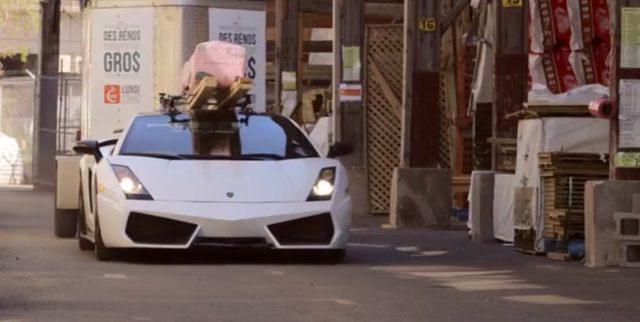 画像3: 超高級車ランボルギーニ ガヤルドを大胆に活用する様子に街中の人々は釘付け!!