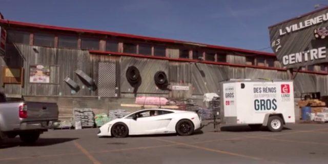 画像2: 超高級車ランボルギーニ ガヤルドを大胆に活用する様子に街中の人々は釘付け!!