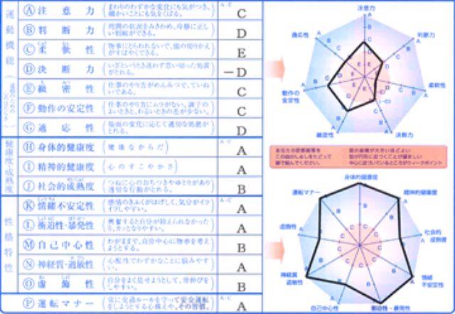 画像: こちらは公式サイト上の例ですが、こんなかんじで結果が出ます。 www.dennoo.co.jp