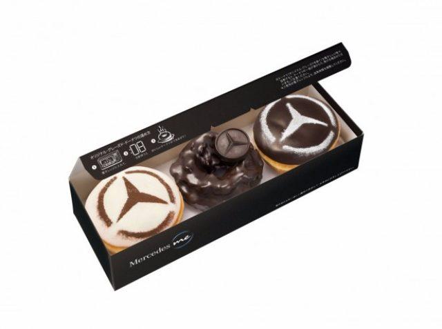 画像: Krispy Kreme Doughnuts×Mercedes Benz