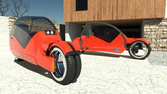 画像: あの・・あのクールなバイクからインスパイアされた??】ぱっかーん!ひとつの車がふたつのバイクに変身?! - LAWRENCE(ロレンス) - Motorcycle x Cars + α = Your Life.