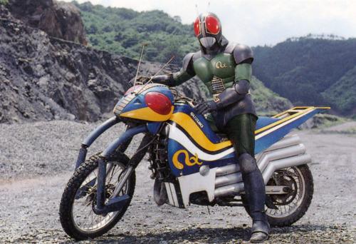 「仮面ライダー ブラック バイク」の画像検索結果