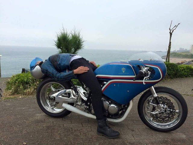 画像: フランスのカスタムビルダー Kikishop Customsが緩〜い感じのSUZUKI GSX750をローンチ。 - LAWRENCE(ロレンス) - Motorcycle x Cars + α = Your Life.