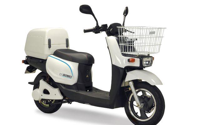 画像: テラモーターズ、訪問看護リハビリステーションに電動バイク BIZMO II を導入