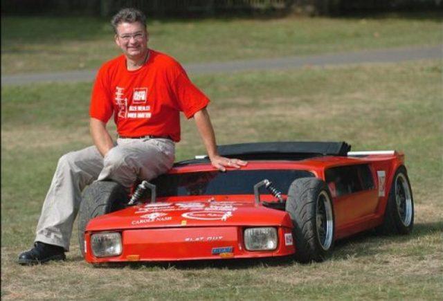 画像: 椅子じゃないよ?車だよ。FIAT126をベースに作られた超平べったい車! - LAWRENCE(ロレンス) - Motorcycle x Cars + α = Your Life.