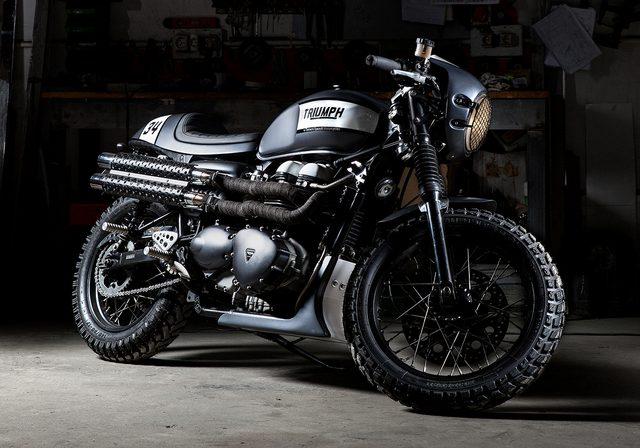 画像: トラッカー要素も加えたクールな一台。 tamaritmotorcycles.com