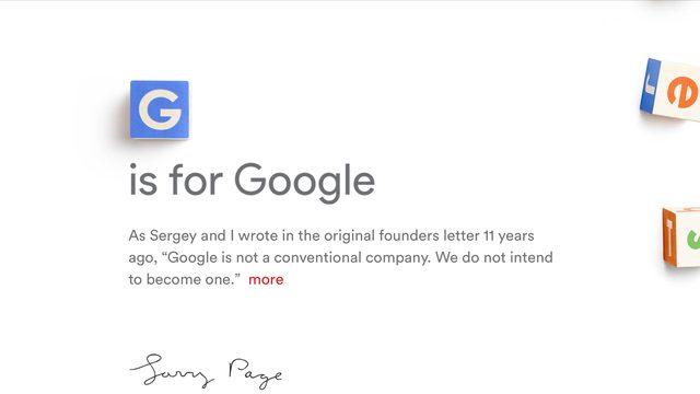 画像: GoogleがAlphabet社を設立した理由と、Appleとの違い。