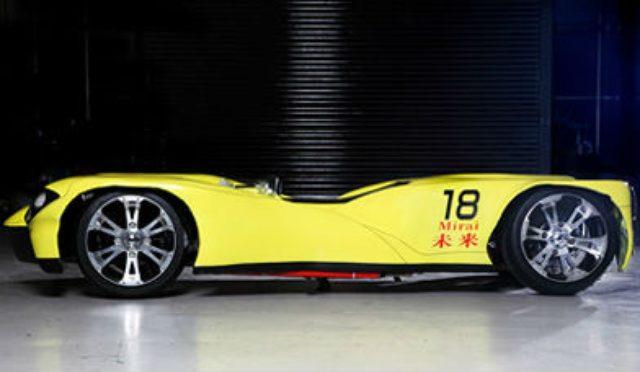 画像: ギネスカーに認定 世界一車高の低い車 MIRAI | おかやま山陽高校