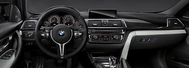 画像: コクピットはそれでも3シリーズのベーシック車とそんなに変わらないw www.bmw.co.jp