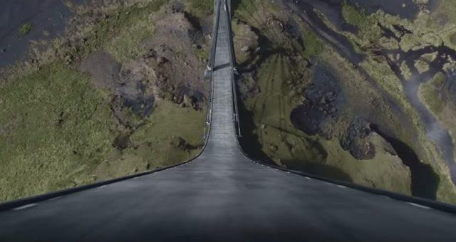 画像: 90度の天から続くハイウェイ www.youtube.com