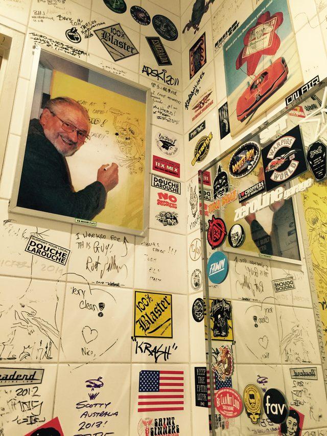 """画像: 写真の人物こそ「残念なことに 2001年4月4日に Heart Attack で 69歳にしてこの世を去ってしまった、 我らが Kustom Kulture 界の ヒーロー である Ed """"BIG DADDY"""" Roth」 www.mooncafe-honmoku.com"""
