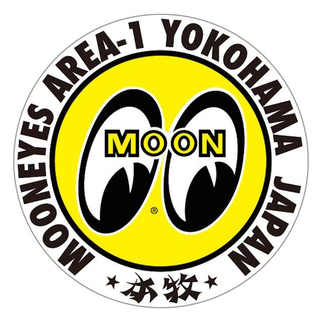 画像: ムーンアイズといえば、きょろっとかわいい黄色の目玉マーク。 mooneyes-area1.com
