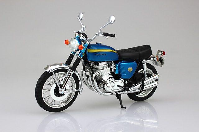 画像: 12分の1完成品バイクシリーズ「Honda CB750FOUR(K0)」発売