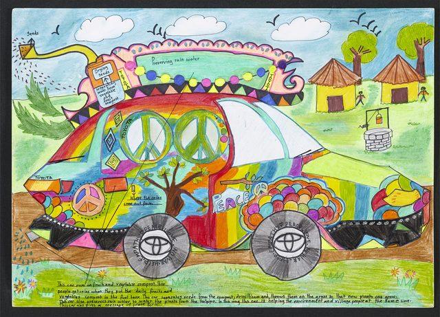 画像: <夢のクルマ技術賞>「エコフィックスカー」果物と野菜の堆肥で走り、人々と環境を助ける車 prtimes.jp