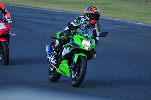 画像2: 先川知香的インプレッション!Kawasaki 【Ninja 250SL】に乗ってみた。