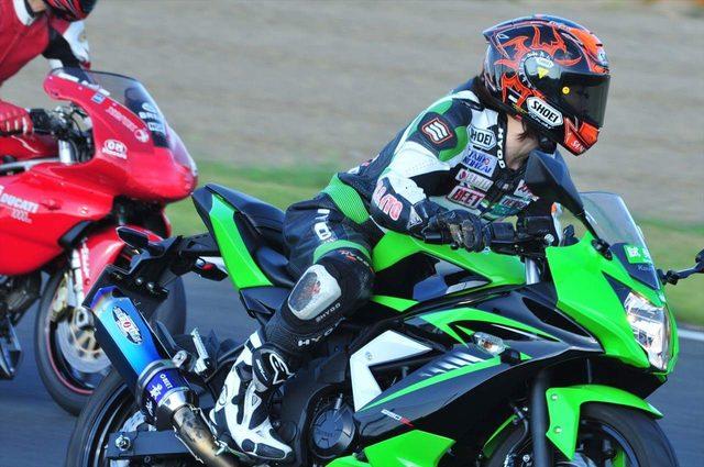 画像3: 先川知香的インプレッション!Kawasaki 【Ninja 250SL】に乗ってみた。