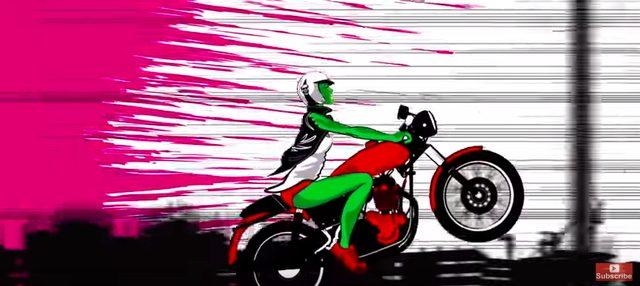 画像2: ゾンビにモテモテ〜♡のバイク女子!ラストの展開が衝撃のミュージックビデオが面白い!