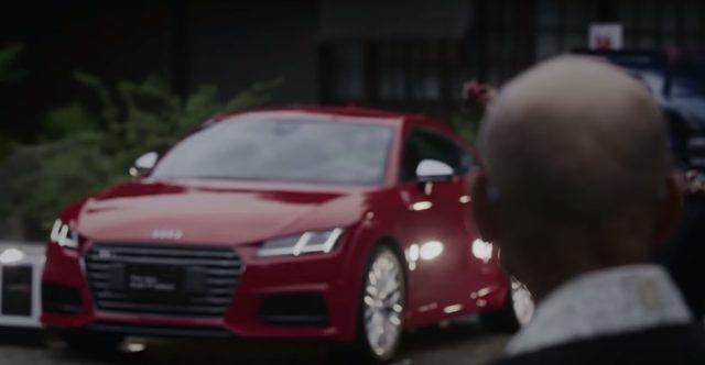 画像: なんとそれはNew Audi TT !! www.youtube.com