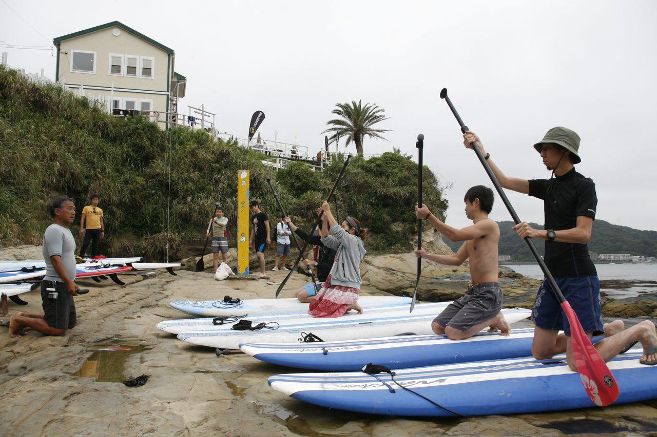 画像3: サーフスポーツSUPを体験チャレンジして