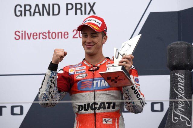 画像: アンドレア・ドヴィツィオーゾ(Ducati MotoGPチーム #04) 3位