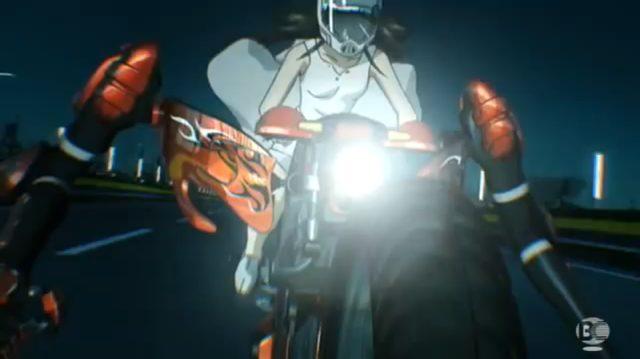 画像: バイクに手が生えてます