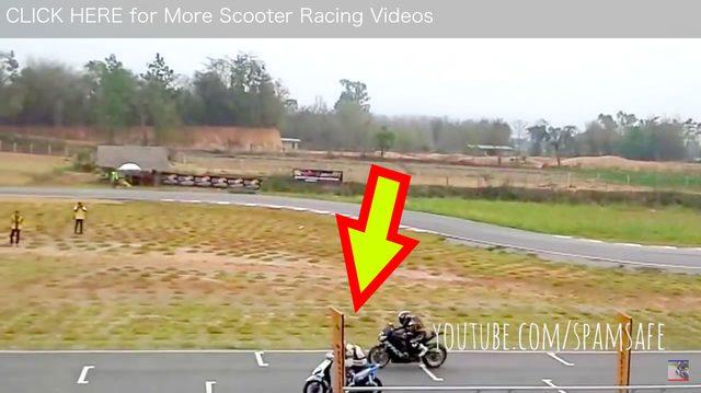 画像2: CBR1000cc VS 125ccのスクーター。結果はいかに?!?!
