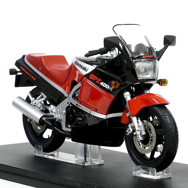 画像: インターアライドが12分の1カワサキGPZ400Rを10月に発売