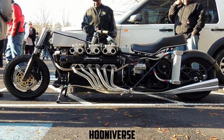 画像: 強烈なインパクトのバイク。ランボルギーニのV12エンジンをバイクに無理やり突っ込んじゃった!w - LAWRENCE(ロレンス) - Motorcycle x Cars + α = Your Life.