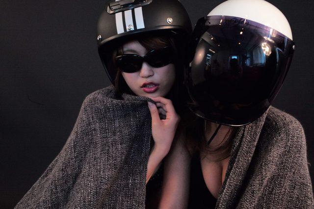画像5: グラビア・新シリーズスタート!【ヘルメット女子】SEASON-X 001