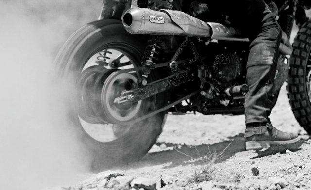 画像: 爆音をあげるモーターサイクル www.belstaff.com