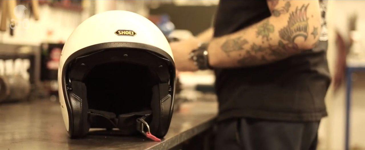 画像1: SHOEI Europeがビンテージ・カスタムシーンに向けて魅力的なヘルメットを発表