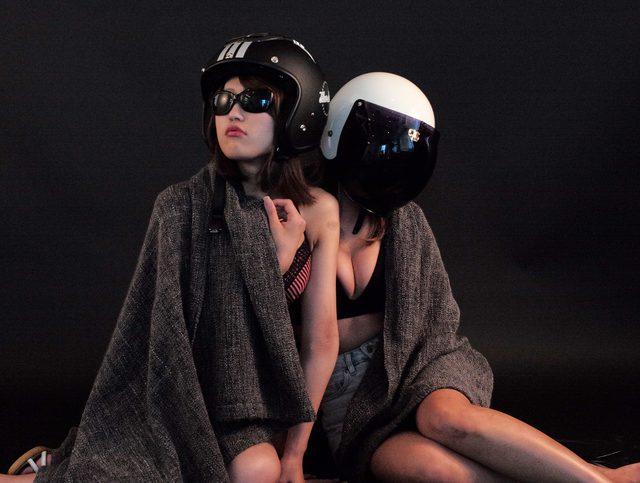 画像2: 今日は特別二本立て・グラビア【ヘルメット女子】SEASON-X 002