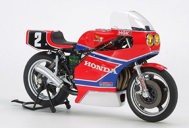 画像: タミヤ「Honda RS1000 1981」完成モデルも発売へ