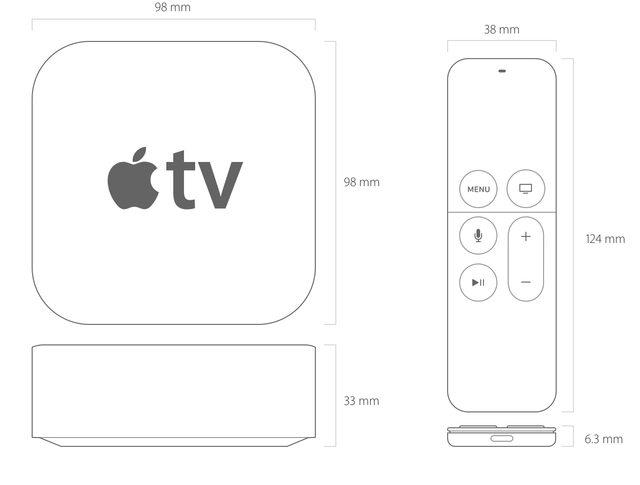 画像: 非常にコンパクトなのは変わらず。これだけで自宅のTVがスマートテレビに! www.apple.com