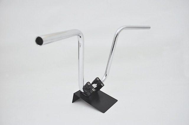 画像: アルキャンハンズが22.2mm汎用スチールメッキハンドル発売